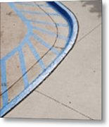 Blue Zone Metal Print