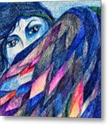 Bluebird Of Happiness. Metal Print