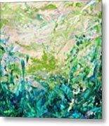 Bluegrass Sunrise - Jade A-left Metal Print