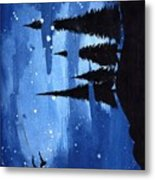Bluenight Metal Print