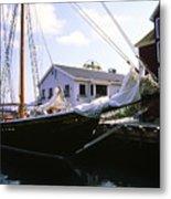 Bluenose II At Historic Properties Halifax Nova Scotia Metal Print
