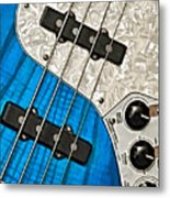Blues Bass Metal Print