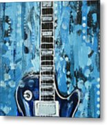 Blues Guitar Metal Print