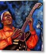 Blues Vibe Metal Print