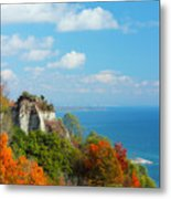 Bluffs Splendour - Scarborough Bluffs Metal Print