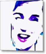 Blur Girl 13 Metal Print