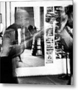 Blurred Training Metal Print