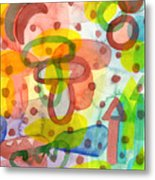 Blurry Mushroom And Other Things Metal Print