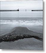 Blyth Beach And Pier #5 Metal Print