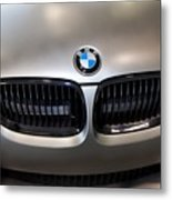 Bmw M3 Hood Metal Print by Aaron Berg