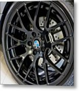 Bmw M3 Wheel Metal Print by Aaron Berg