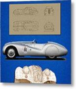 Bmw Mille Miglia Poster Metal Print
