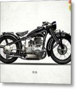 The R16 Motorcycle Metal Print