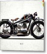 The R47 Motorcycle Metal Print