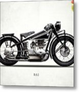 The R63 Motorcycle Metal Print