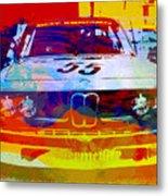 Bmw Racing Metal Print