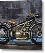 Bmw Vintage Motorcycle Metal Print