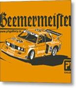 Bmw320 Gr5 Racing Metal Print
