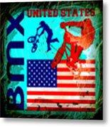 Bmx United States Metal Print