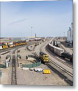 Bnsf Northtown Yard 4 Metal Print
