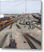 Bnsf Northtown Yard 6 Metal Print