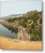 Bnsf Tunnel Metal Print