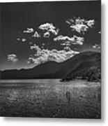 Bnw Lago De Coatepeque - El Salvador V Metal Print