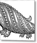Boar Whale Metal Print