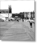 Boardwalk Blur Metal Print