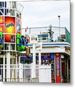 Boardwalk Ride Metal Print