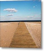 Boardwalk To The Ocean Metal Print