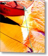 Boat Abstract Metal Print