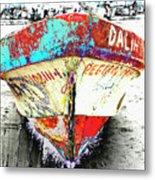 Boat Dalia, Puerta Vallarta, Mexico Metal Print