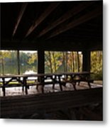 Boat In The Distance Metal Print