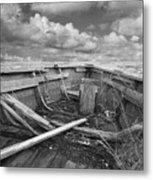 Boat Of Yesteryear Metal Print