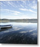 Boat On Knysna Lagoon Metal Print
