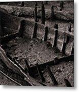 Boat Remains Metal Print