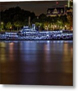 Boat Restaurant  Metal Print by Ivelin Donchev