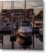 Boat Slip Metal Print