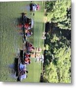 Boat Tours Tam Coc Vietnam  Metal Print