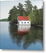 Boathouse Metal Print