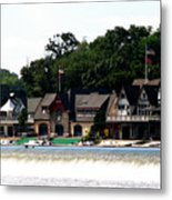 Boathouse Row Philadelphia Metal Print