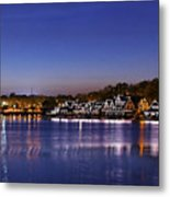Boathouse Row Philly Metal Print