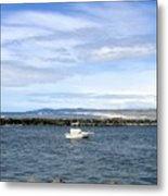 Boating At Bandon Metal Print