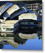 Boating Incident Metal Print