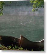 Boats - Natchez Metal Print