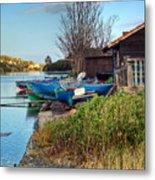 Boats At Rest Metal Print