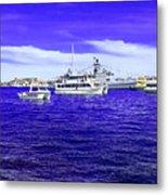 Boats Everywhere 3 Metal Print