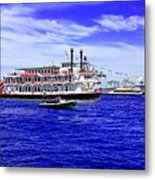 Boats Everywhere During Navy Fleet Review In Sydney Metal Print