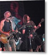 Bob Weir And John K. - Furthur Metal Print
